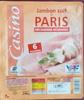 Jambon cuit de Paris Découenné - Dégraissé - Produit