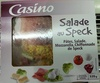 Salade crudités mozzarella jambon speck - Product