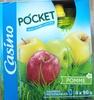 Pocket - Spécialité de fruits sans sucres ajoutés gourde pomme - Product
