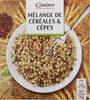 Mélange de céréales et cèpes - Produit
