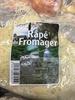 Râpé du Fromager - Produit