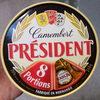 Camembert en portions - Produit