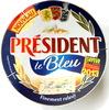 Le Bleu - Fromage à pâte molle persillée au lait de vache pasteurisé - Produit