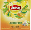 Lipton Thé Noir Agrumes 20 Sachets Pyramid® - Prodotto