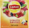 Lipton Thé 5 Fruits Rouges 20 Sachets - Product