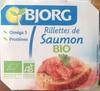 Rillettes de Saumon Bio - Produit