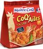 Coq ailes Nature 250g - Produit