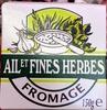 Fromage Ail et Fines Herbes (24 % MG) - Produit