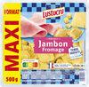 Lustucru ravioli jambon fromage format maxi500g - Produit
