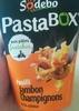PastaBOX Fusilli Jambon Champignons à la crème - Product