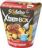 XtremBox - Radiatori Bolognaise - Produit