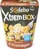 XtremBox - Radiatori 4 fromages - Produit