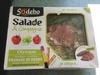 Salade & compagnie Olympe (Boulgour, crudités, fromage de brebis, jambon speck et olives) - Produit