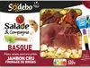 S&c basque poivrons jambon cru fromage de brebis - Produit