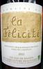 Sable de Camargue IGP 2011 Bio Domaine de la Félicité - Produit