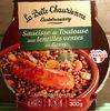 Saucisse de Toulouse aux Lentilles Vertes du Berry - Produit