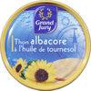 Thon albacore à l'huile de tournesol - Prodotto