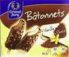 Bâtonnets vanille chocolat - Produit