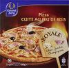 Pizza cuite au feu de bois Royale - Produit