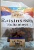Raisins secs sultanines - Produit