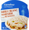 Merlu blanc marinière et son riz basmati - Product