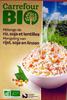 Mélange de riz, soja et lentilles Bio - 250 g - Carrefour - Producto