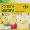 Pomme Banane Dessert de fruits - Produkt