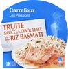 Truite sauce à la ciboulette et son riz basmati - Product