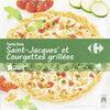 Tarte Fine, Noix de Saint-jacques et Courgettes grillées - Product