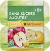 Pomme Banane Sans sucres ajoutés - Produit