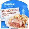 Saumon et Tagliatelles aux Oeufs - Product