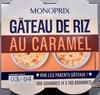 Gâteau de riz au caramel - Produit