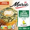 Tarte chèvre Epinard 180G Marie - sans pâte QTI - Produit