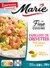 Papillote de Crevettes Petits légumes et riz - Product