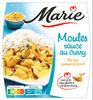 Moules sauce au Curry & riz aux graines de pavot - Product