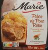 Pièce de porc rôtie, Jus à la moutarde & aux herbes et PDT grenailles - Product