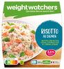 Risotto au Saumon, petites crevettes, Fèves, Courgettes - Product