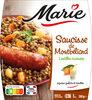 Saucisse de Montbéliard, Lentilles cuisinées - Product