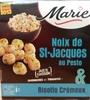 Noix de St-Jacques au Pesto & Risotto Crémeux - Product