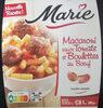 Macaroni sauce tomate et boulettes au bœuf - Produit