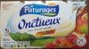 Onctueux Aux Fruits Mixés Pâturages 2 KG (16 Pots) [4 x (4 x 125 G)] - Product