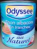 Thon albacore en tranches au naturel - Prodotto