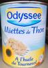 Miettes de thon à l'huile de tournesol - Prodotto