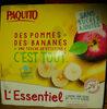 compotes pomme banane l'essentiel - Produit
