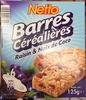 Barres céréalières Raisin & Noix de Coco - Product