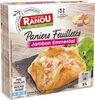Paniers feuilletés jambon emmental - Product