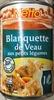 Blanquette de Veau aux petits légumes sauce à la crème fraiche - Product