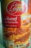 Le Bœuf aux Haricots (1 portion) - Produit