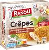 Crêpes champignons jambon & emmental - Produit