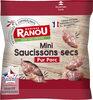 Mini saucissons secs pur porc - Product